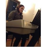 Onde fazer Aula de piano para iniciante na Vila Maria