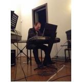 Onde fazer uma Aula de teclado ritmos em Santana