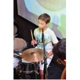 Onde localizar uma Escola para aula de bateria em Brasilândia