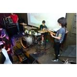 Onde tem Escola para aula de bateria em Santana