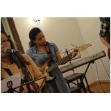 Onde tem Escola para aula guitarra na Vila Maria