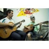 Onde tem uma Aula de violão  em Santana