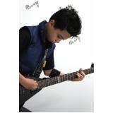 Onde tem uma Escola de guitarra em Brasilândia