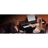 orçamento de aula de piano para crianças Casa Verde