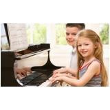 orçamento de aulas de piano infantis Santana