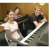 orçamento de aulas de piano para criança Casa Verde