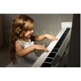 orçamento de aulas de piano para crianças 6 anos Vila Maria
