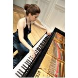Preço Aula de piano avançado na Vila Medeiros