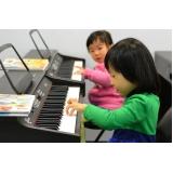 Preço Aula de piano clássico na Vila Guilherme