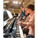 Preço de Aula de piano avançado na Vila Guilherme