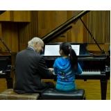 Preço de Aula de piano clássico na Vila Gustavo