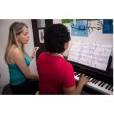 Preço de Aula de piano na Vila Guilherme