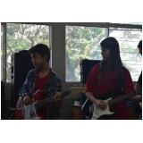 Preço de Escola para aula guitarra na Vila Gustavo