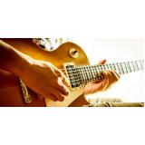 Preço de uma Aula de guitarra no Jardim França