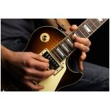 Preço de uma Aula guitarra em Brasilândia