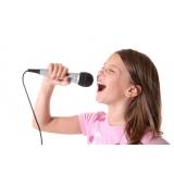 Preço para fazer uma Aula de canto na Vila Guilherme
