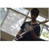 Preços de Escola para aula guitarra no Tremembé