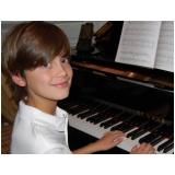 Quais os preços de Aula de piano avançado na Vila Gustavo