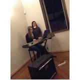 Quais os valores de Aula de teclado ritmos em Santana