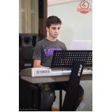 Qual Escola da aula de teclado no Tremembé