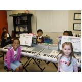 Qual o preço Aula de piano no Mandaqui
