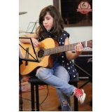 Qual o preço de Aulas de violão na Vila Maria