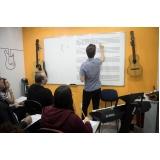 Qual o preço de escola de musica  na Vila Maria