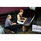 Qual o preço de uma Aula de piano clássico em Brasilândia