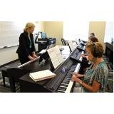 Qual o valor Aula de piano no Imirim