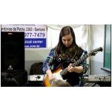 Qual o valor Aula guitarra no Tucuruvi