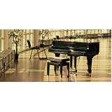 Qual o valor de Aula de piano na Vila Maria