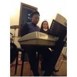 Qual o valor de Aula de teclado ritmos em Santana