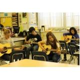 Qual o valor de Aula de violão na Vila Medeiros