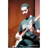 Qual o valor de Aulas de guitarra em Brasilândia