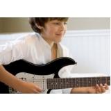Qual preço Aula de guitarra no Tucuruvi
