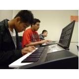 Qual preço Aula de piano em Brasilândia