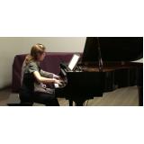 Qual preço de Aula de piano avançado na Vila Gustavo