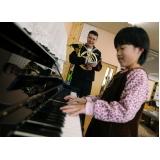 Qual preço de Aula de piano no Tremembé