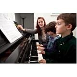 Qual preço de uma Aula de piano em Brasilândia