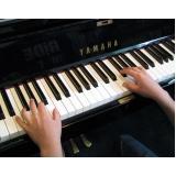 Qual valor Aula de piano na Vila Maria