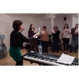 Qual valor de Aula de canto na Vila Medeiros