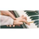 Qual valor de Aula de piano avançado na Casa Verde