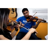 Qual valor de escola de musica  em Brasilândia