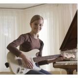 Qual valor de uma Aula de guitarra em Jaçanã