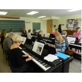 Qual valor de uma Aula de piano na Vila Medeiros