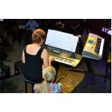 Quanto custa Aula de teclado avançado na Vila Maria