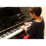quanto custa aulas de piano infantis Vila Maria