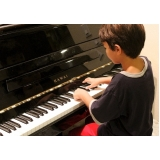quanto custa aulas de piano infantis Vila Medeiros