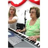 quanto custa aulas de piano para crianças 6 anos Vila Gustavo