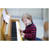 quanto custa escola de piano com coral infantil Mandaqui